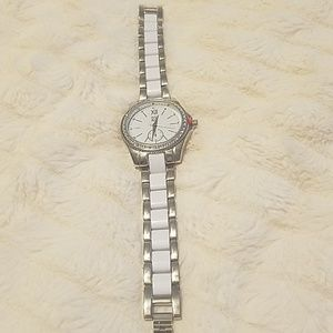 NY & CO White & Silver Watch